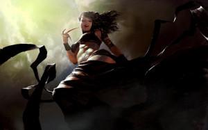 Igor Kieryluk fantasy art dark horror vampires macabre blood gore evil ...