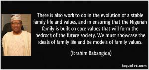 More Ibrahim Babangida Quotes
