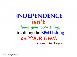 Independence Quotes Parenting quotes