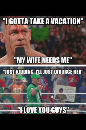 wwe news [WWE News] John Cena Files For Divorce
