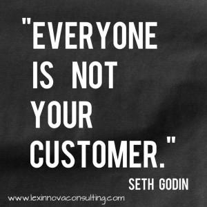... . Share if you agree. #sethgodin #quotes #customer #marketing #sales