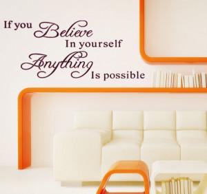 IF YOU BELIEVE inspirational sayings in English English classroom ...