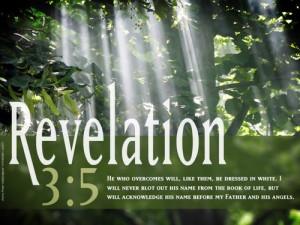 Desktop Bible Verse Wallpaper Revelation 3:5   Free Wallpaper ...