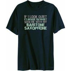 baritone saxophone mens t shirt navy blue ebay more baritone saxophone ...