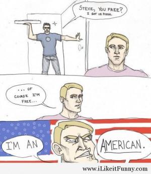 Iron Man funny captain america