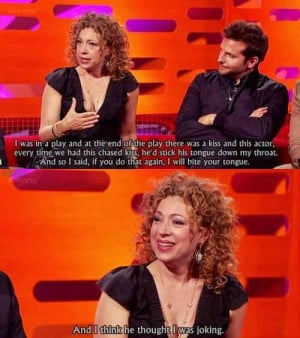 River Song Quotes She plays river song in doctor