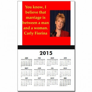2016 Gifts > 2016 Calendars > carly fiorina quote Calendar Print