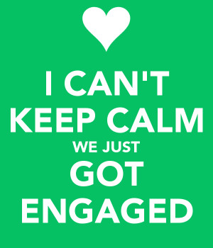 10 Thoughts I Had Immediately After Getting Engaged