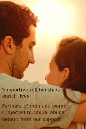Supportive relationships enrich lives