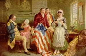 betsy ross sewing flag my i am is betsy ross who sewed the first ...