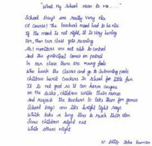 100 days of school school days poems about school days
