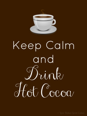 Drink Coffee/Hot Cocoa printable (8x10)