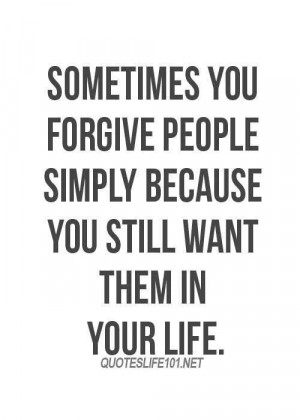 Forgiving People