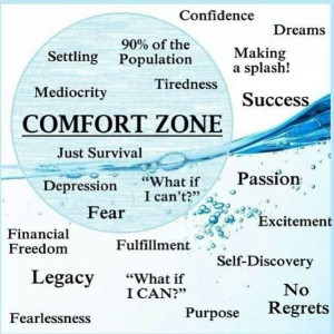 moving beyond our comfort zones is how we can best learn and grow to ...