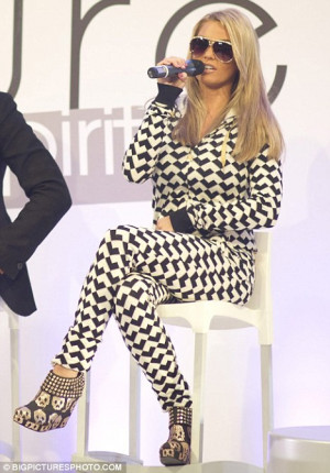 Questioned: Katie Price, pictured at her fashion line launch in London ...
