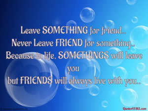 Friends Leaving Quotes...