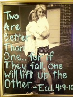 sister love - this quote with picutre of Kyla & ava would be cute More