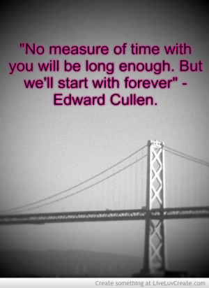Edward Cullen Quote