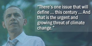 Stand With President Obama on Climate Change