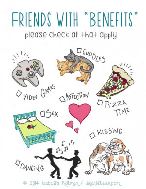 Going from friends with benefits to dating