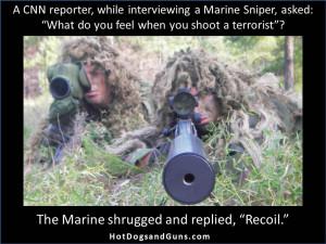 Marine Sniper On Shooting Terrorists