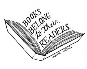 Books belong to their readers.