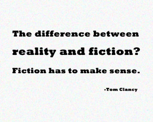 Quote of the Week: Fiction (and essay on pulp fiction)