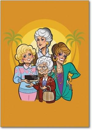 Golden Girls Funny Card