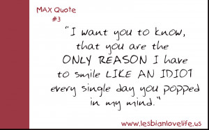 Cute Love Quotes - Max Quote 3