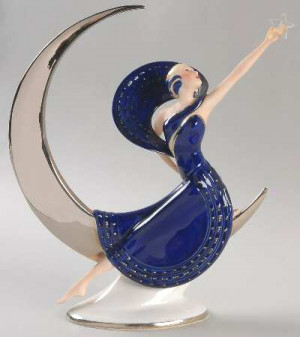FRANKLIN MINT Art Deco-Figurine Series STOCK