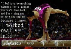 Aly Raisman Great Gymnastics Quotes