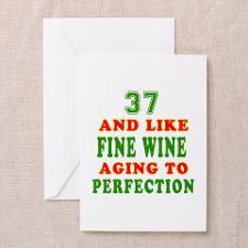 37Th Birthday Greeting Cards