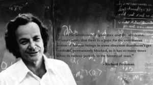 Richard Feynman motivational inspirational love life quotes sayings ...