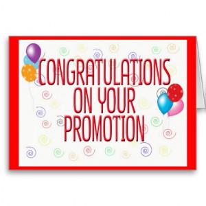 Congratulations on promotion – Congratulations for job promotion ...