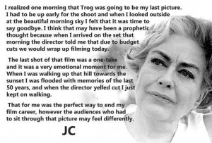 Joan Crawford Talks Trog