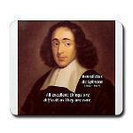 Spinoza Ethics Philosophy Mousepad