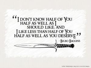 quote:Bilbo Baggins