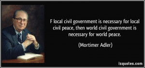 More Mortimer Adler Quotes