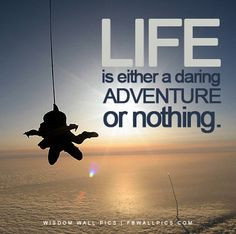 skydiving motivational quote more skydiving quotes motivation quotes ...