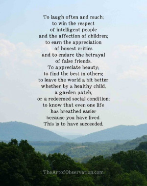 Inspirational Quote about life Blue Ridge by theartofobservation www ...