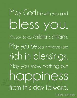 Funny Wedding Blessing Quotes - Doblelol.com