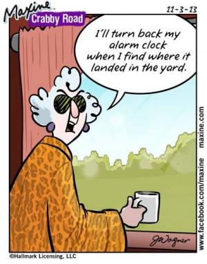 Maxine - alarm clock