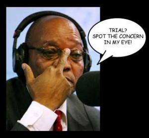 Jacob Zuma concern
