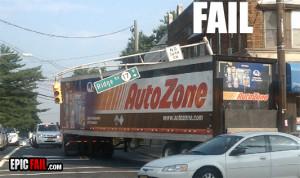 truck driver fail turn red