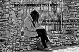 Sad Quotes About Being Alone #15