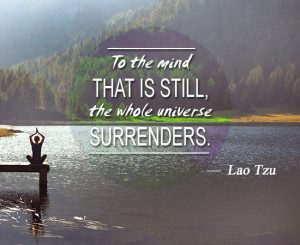 Taoism quote about the universe