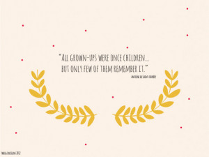 ... decor, Garland, Illustration, Little Prince Quotes - All grown-ups