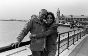 Grant Tinker and Mary Tyler Moore