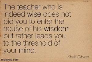 Teaching Expands Our Minds