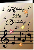 55th Birthday Cards